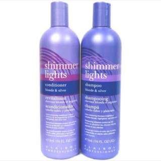 🔮<Ready Stock> Clairol Shimmer Lights Purple Shampoo / Conditioner