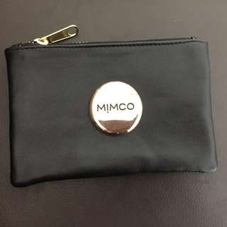 Mimco small pouch Faux leather