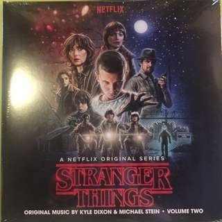 Stranger Things OST Volume 2 (Invada Mailorder Exclusive)