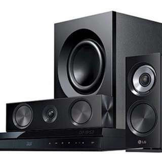 LG BH7220 BLU-RAY home theatre system 5.1
