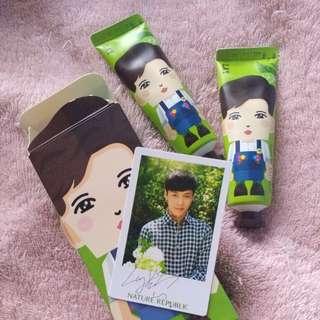 Hand Cream Nature Republic x EXO Lay
