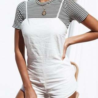 Tie Up Back Playsuit