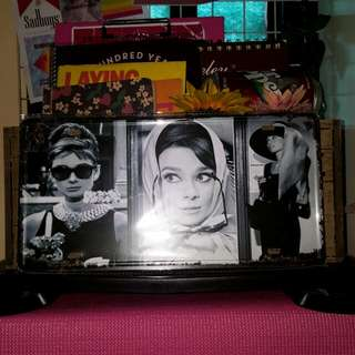 Audrey Hepburn Collage // For Room Decor