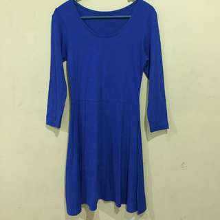 Atmosphere blue dress