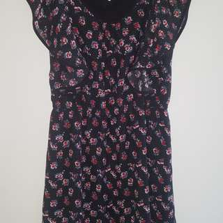 Quirky Circus Floral Summer Dress