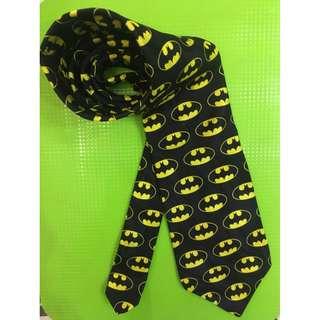 SALE ~ Batman Logo Tie 100% silk Made in USA (FIXED Price)