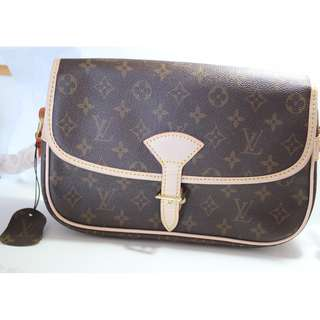 LV Sologne Monogram Canvas Shoulder Bag
