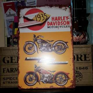 Harley Davidson Motorcycles // for room decor