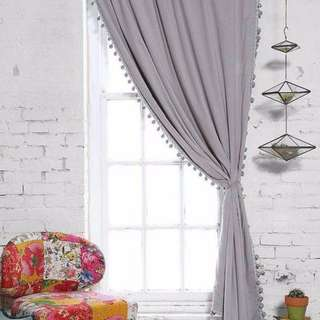 Curtain dry clean/ wash / free delivery