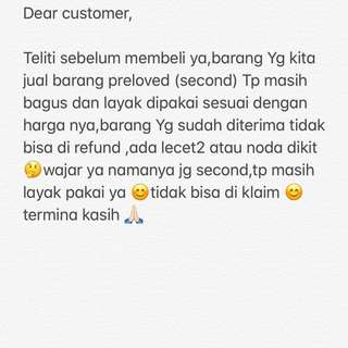 My note