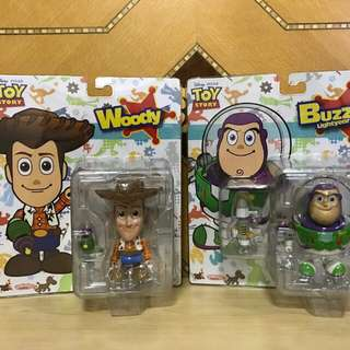 Brand new woody and buzz