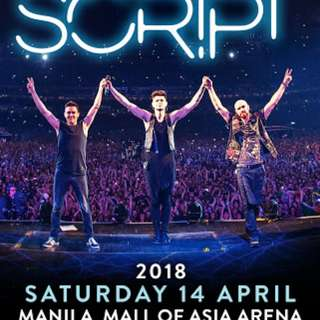 The Script Freedom Child Tour in Manila 2018 VIP 1 Experience