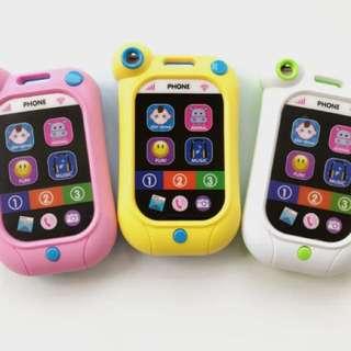 🚚 寶寶玩具手機 智能觸屏 有趣好玩 有音樂