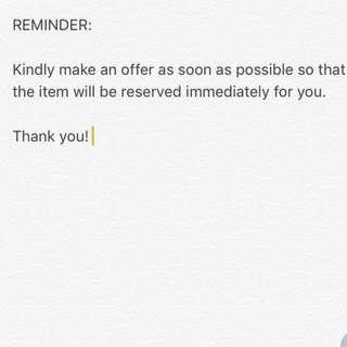PLEASE READ 💯