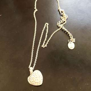 FREE SHIPPING - EQUIP DIAMOND HEART NECKLACE