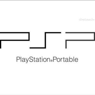 PSP downloaded games