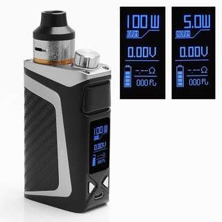 Authentic IJOY RDTA BOX MINI 100W 2600mAh TC VW Variable Wattage Mod Kit