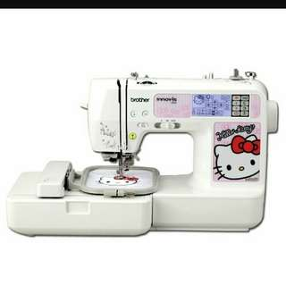 Brother Embroidery and Sewing Machine Hello Kitty NV980k