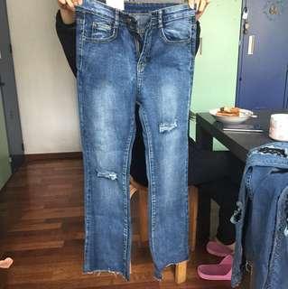 全新牛仔褲未拆牌