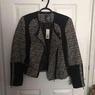Dynamite Black & White Jacket