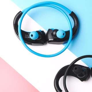 🚚 藍芽耳機(藍黑色)