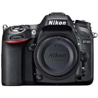 Kredit Nikon D7100 Body Only tanpa kartu kredit