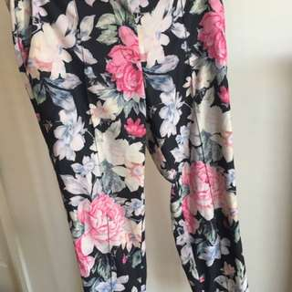 Mossman floral tailored pant