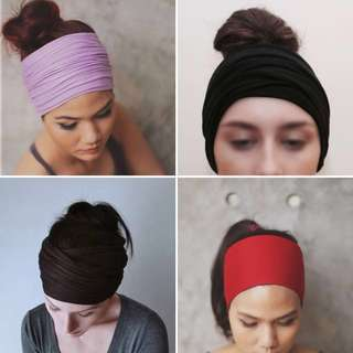 Headbands for fitness and yoga