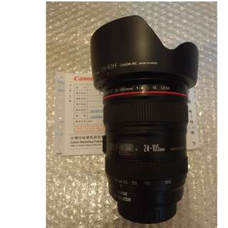 Canon 24-105mm F4 IS USM  (公UC)