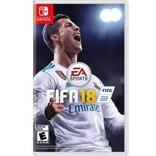 [BrandNew] Nintendo Switch FIFA 18
