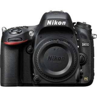 Kredit Nikon D610 Body Only tanpa kartu kredit