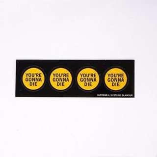 SUPREME Hysteric Glamour Sticker