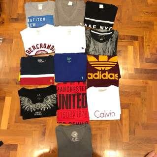 Men branded T shirts