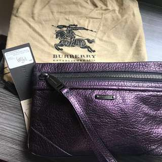 Burberry clutch bag (new)