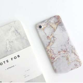 (B)Marble Mobile Phone Case