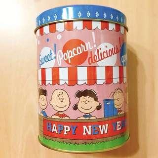 Snoopy 史努比鐵罐 收納罐 #我的家飾可超取