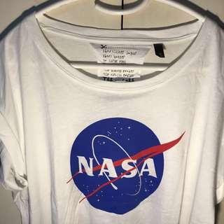 TOPSHOP x TEE and CAKE NASA shirt