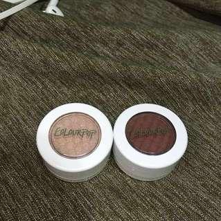 Colourpop super shock shadow (Truth & Summer Side)