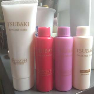 Shiseido Set ( shampoo, conditioner*2, and treatment), price for the whole set # Shiseido #hair #treatment