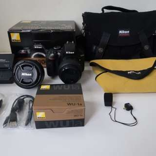 Nikon D3300 full set
