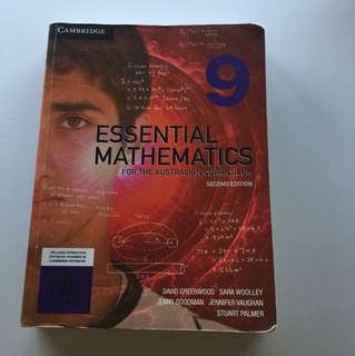 Year 9 essential mathematics textbook