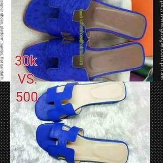 Hermes Oran Sandals Inspired