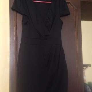 Formal Low Neck Short Dress
