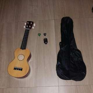 Ukelele. Instruments.