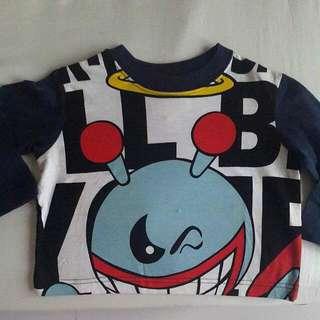 W&LT 長袖潮T 兒童T恤 小朋友上衣 #寶貝過新年 #好想找到對的人 #舊愛換新歡 #有超取最好買