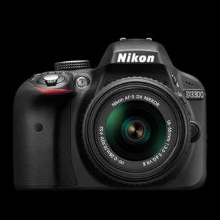 Kredit Nikon D3300 kit 18-55mm VR II tanpa kartu kredit