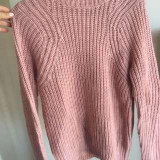 Dotti pink jumper