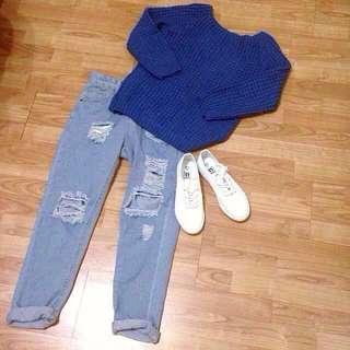 韓版針織上衣   #四百不著涼 #手滑買太多    #幫你省運費    #好物任你換  #我的女裝可超取