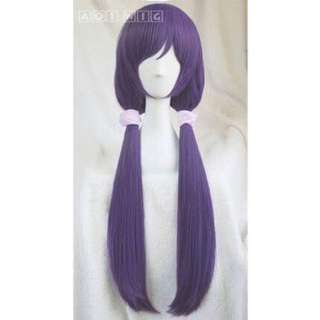 nozomi wig 紫 假髮 aoi家