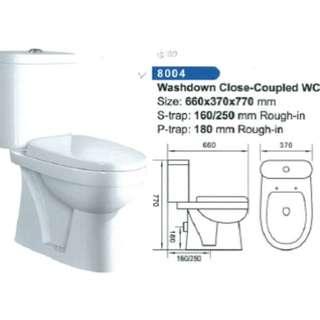 Casanova Close-coupled wash down WC